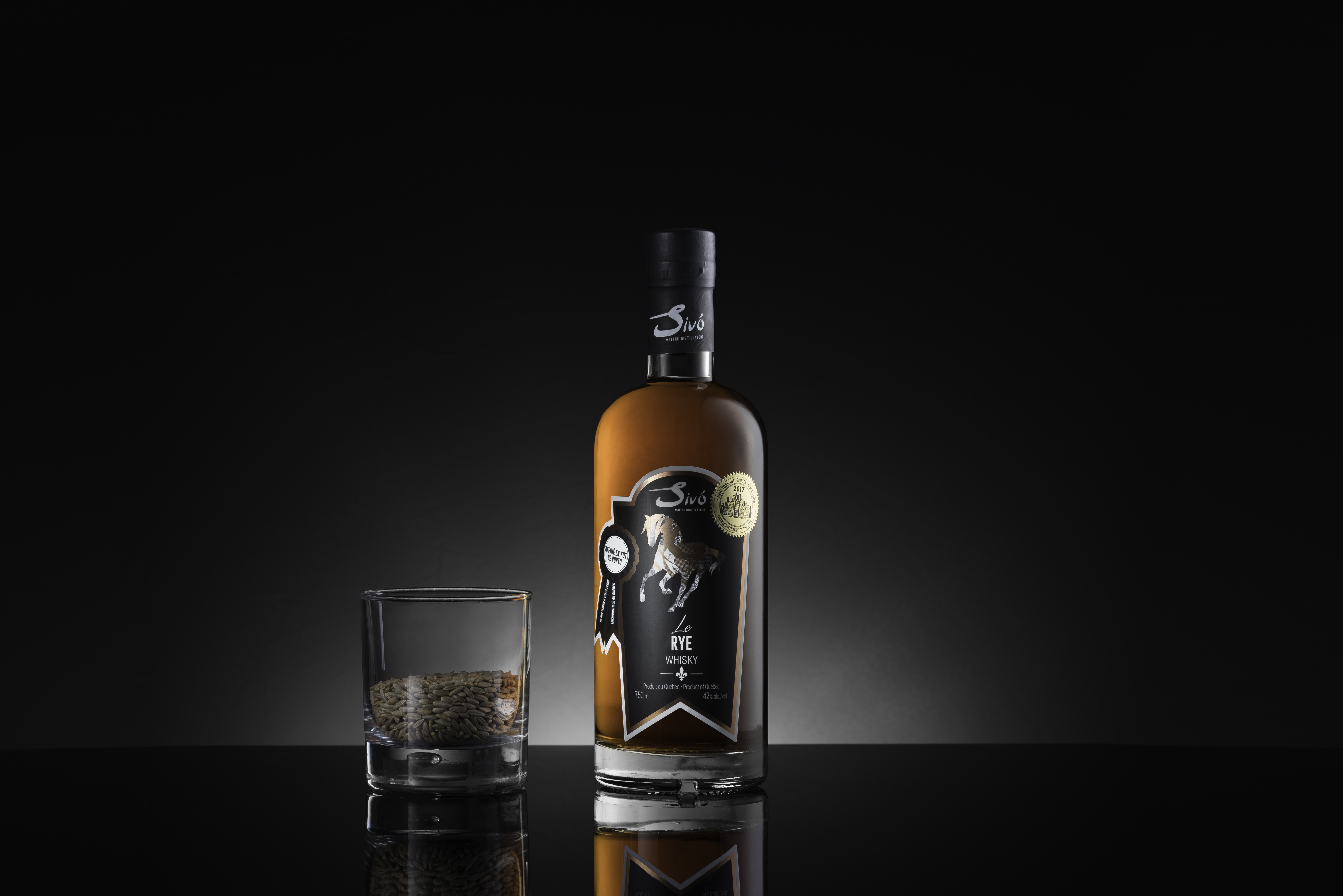 """BEST Canadian Rye whisky """"LE Rye Sivo"""""""